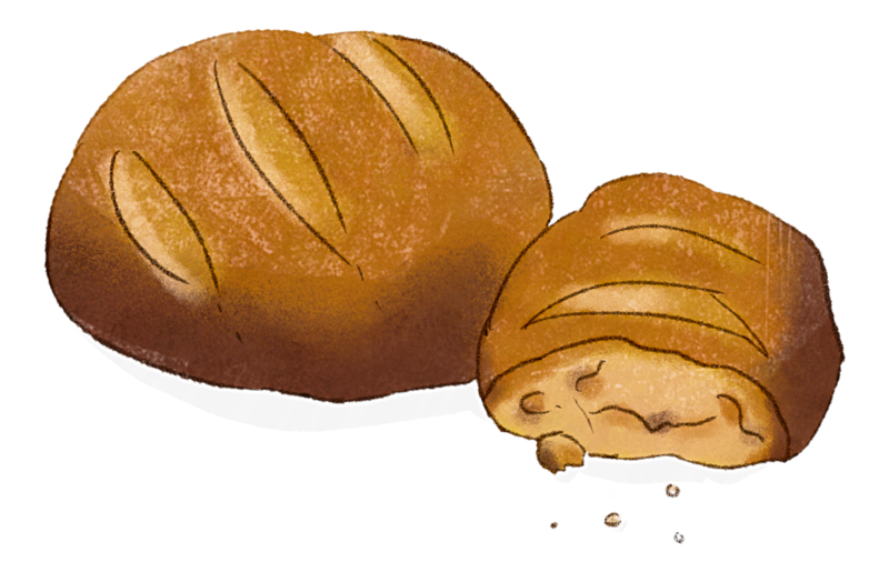 Illustration Brot