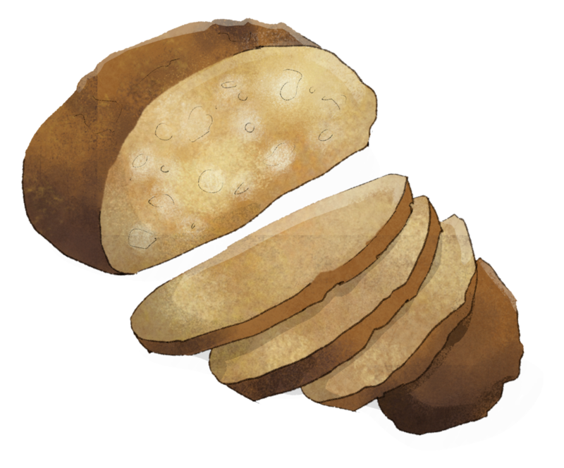 Illustration Mehrkornbrot