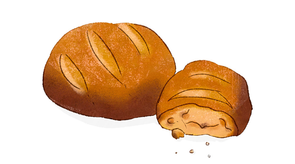 Illustration Mischbrot