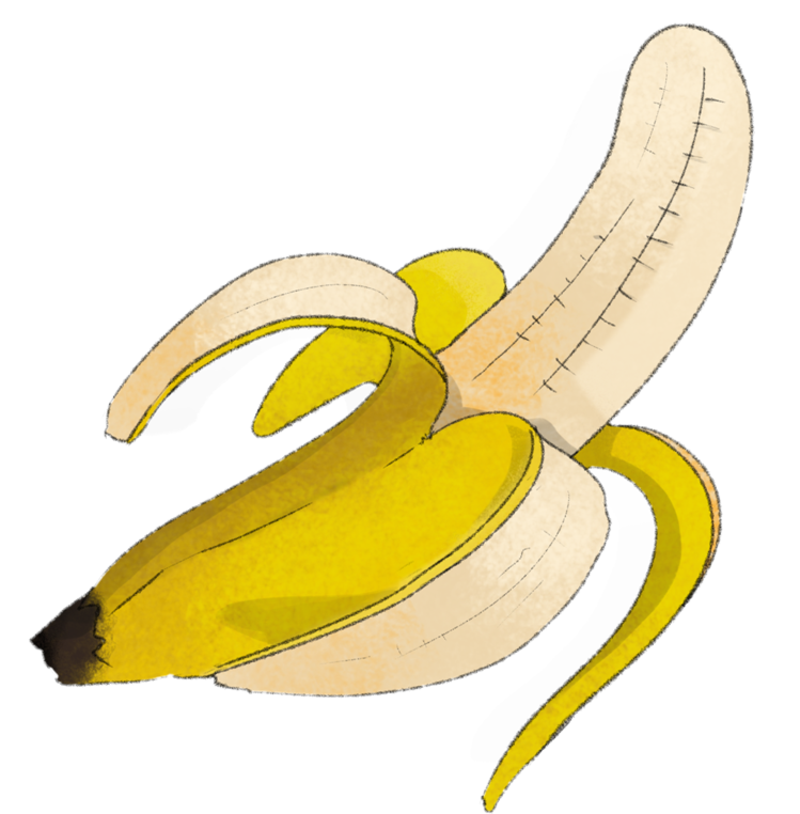 Illustration Banane