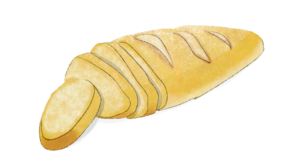 Illustration Weizenbrot